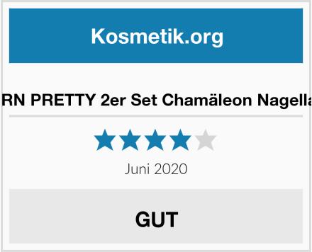 BORN PRETTY 2er Set Chamäleon Nagellack Test