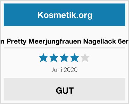 Born Pretty Meerjungfrauen Nagellack 6er Set Test