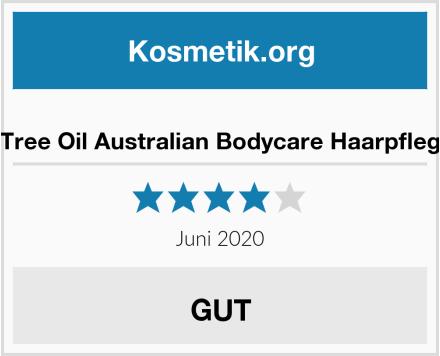 Tea Tree Oil Australian Bodycare Haarpflegeset Test