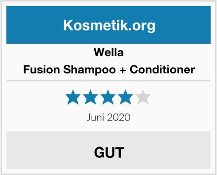 Wella Fusion Shampoo + Conditioner Test