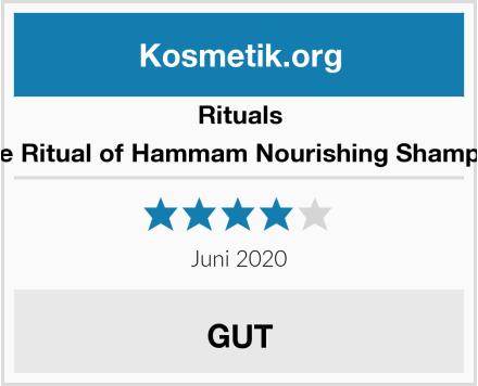 RITUALS The Ritual of Hammam Nourishing Shampoo Test