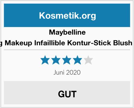 Maybelline Contoruing Makeup Infaillible Kontur-Stick Blush 002 Rouge Test