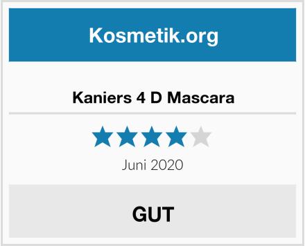 Kaniers 4 D Mascara Test