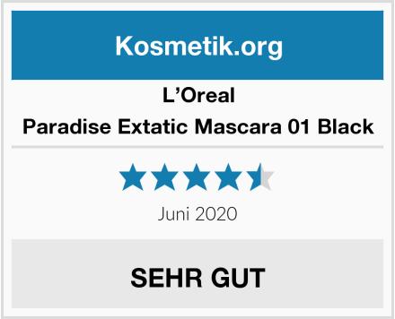 L'Oreal Paradise Extatic Mascara 01 Black Test