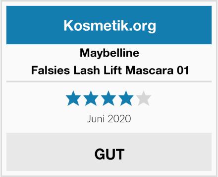 Maybelline Falsies Lash Lift Mascara 01 Test