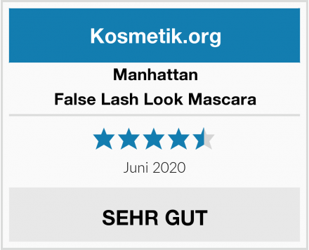 Manhattan False Lash Look Mascara Test