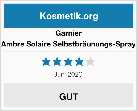 Garnier Ambre Solaire Selbstbräunungs-Spray Test