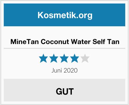 MineTan Coconut Water Self Tan Test