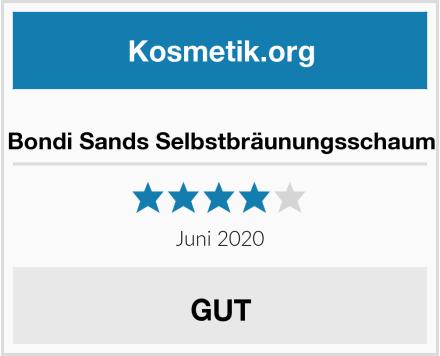Bondi Sands Selbstbräunungsschaum Test