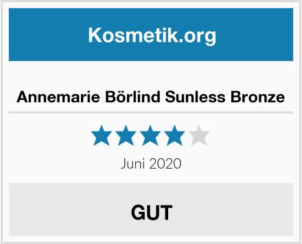 Annemarie Börlind Sunless Bronze Test