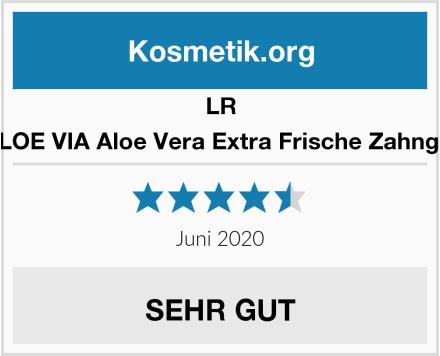 LR ALOE VIA Aloe Vera Extra Frische Zahngel Test