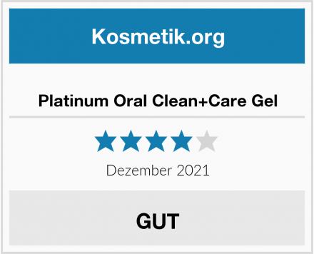 Platinum Oral Clean+Care Gel Test