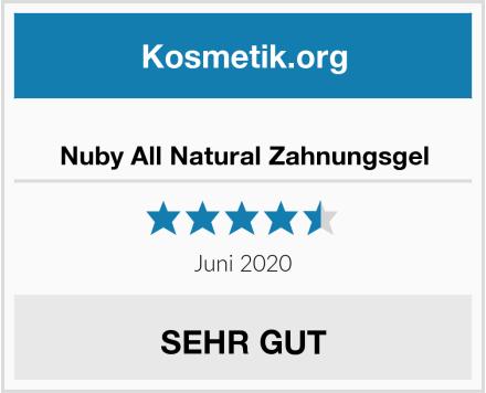 Nuby All Natural Zahnungsgel Test