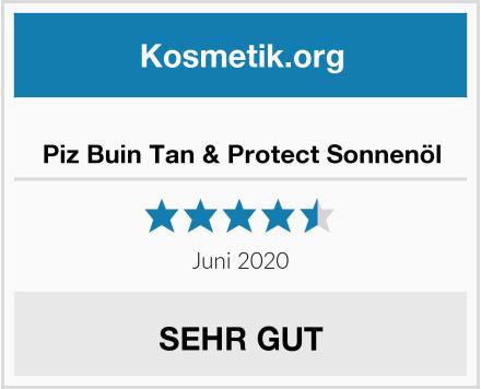 Piz Buin Tan & Protect Sonnenöl Test
