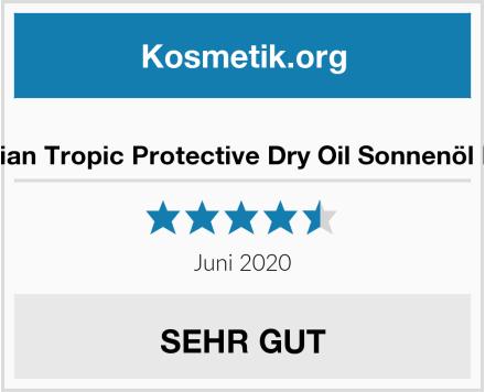 Hawaiian Tropic Protective Dry Oil Sonnenöl LSF 15 Test
