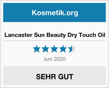 Lancaster Sun Beauty Dry Touch Oil Test