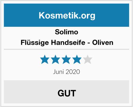 Solimo Flüssige Handseife - Oliven Test