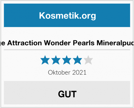 ZAO Age Attraction Wonder Pearls Mineralpuder Test