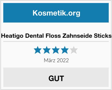 Heatigo Dental Floss Zahnseide Sticks Test