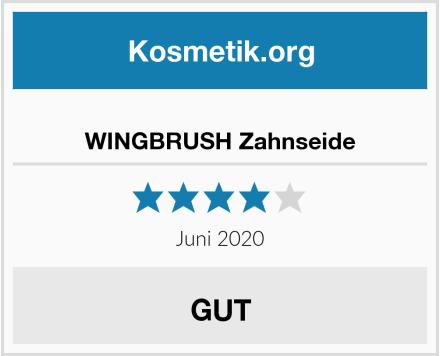 WINGBRUSH Zahnseide Test