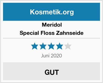 Meridol Special Floss Zahnseide Test
