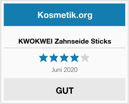 KWOKWEI Zahnseide Sticks Test
