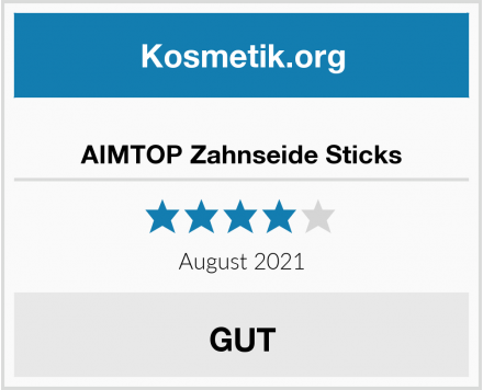 AIMTOP Zahnseide Sticks Test