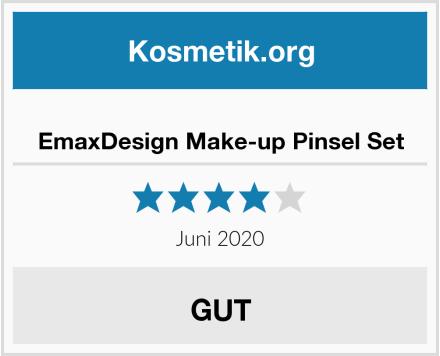 EmaxDesign Make-up Pinsel Set Test