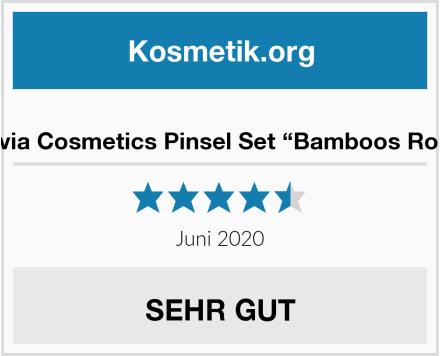 "Luvia Cosmetics Pinsel Set ""Bamboos Root"" Test"