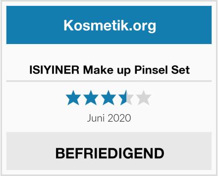ISIYINER Make up Pinsel Set Test