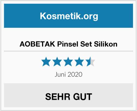 AOBETAK Pinsel Set Silikon Test