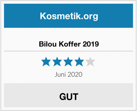 Bilou Koffer 2019 Test