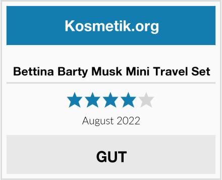 Bettina Barty Musk Mini Travel Set Test