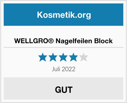 WELLGRO® Nagelfeilen Block Test