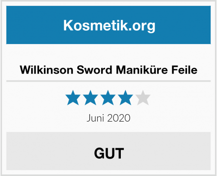 Wilkinson Sword Maniküre Feile Test