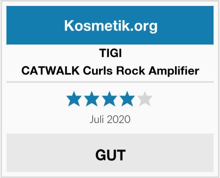 TIGI CATWALK Curls Rock Amplifier Test