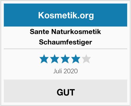SANTE Naturkosmetik Schaumfestiger Test
