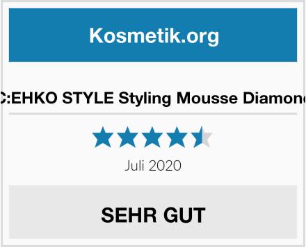 C:EHKO STYLE Styling Mousse Diamond Test