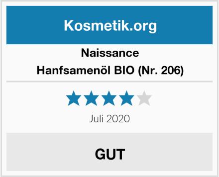 Naissance Hanfsamenöl BIO (Nr. 206) Test
