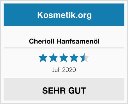 Cherioll Hanfsamenöl Test