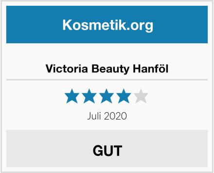 Victoria Beauty Hanföl Test