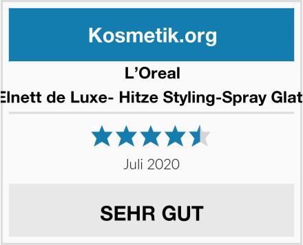 L'Oreal Elnett de Luxe- Hitze Styling-Spray Glatt Test
