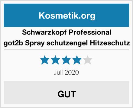 Schwarzkopf Professional got2b Spray schutzengel Hitzeschutz Test