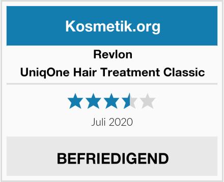 Revlon UniqOne Hair Treatment Classic Test
