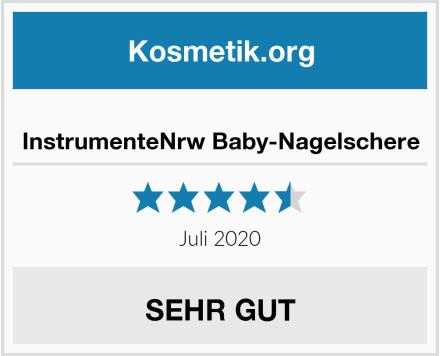 InstrumenteNrw Baby-Nagelschere Test