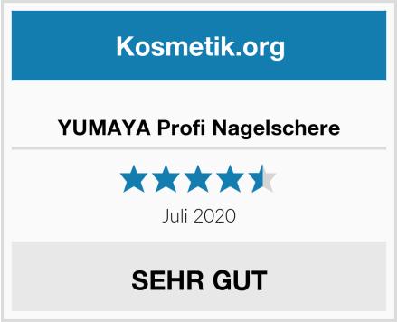 YUMAYA Profi Nagelschere Test