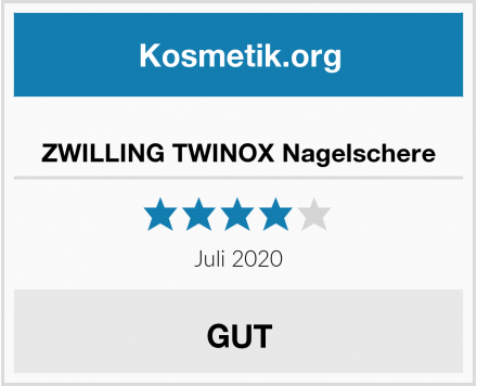 ZWILLING TWINOX Nagelschere Test