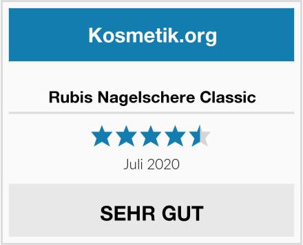 Rubis Nagelschere Classic Test