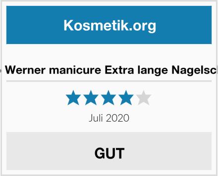 Otto Werner manicure Extra lange Nagelschere Test