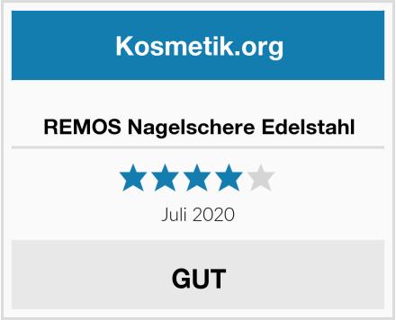 REMOS Nagelschere Edelstahl Test